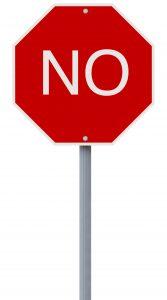 say no to holiday stress