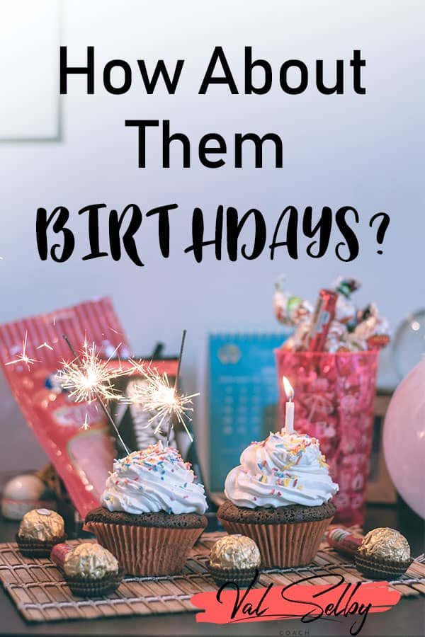 changing birthdays