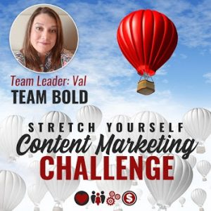 stretch yourself challenge team bold