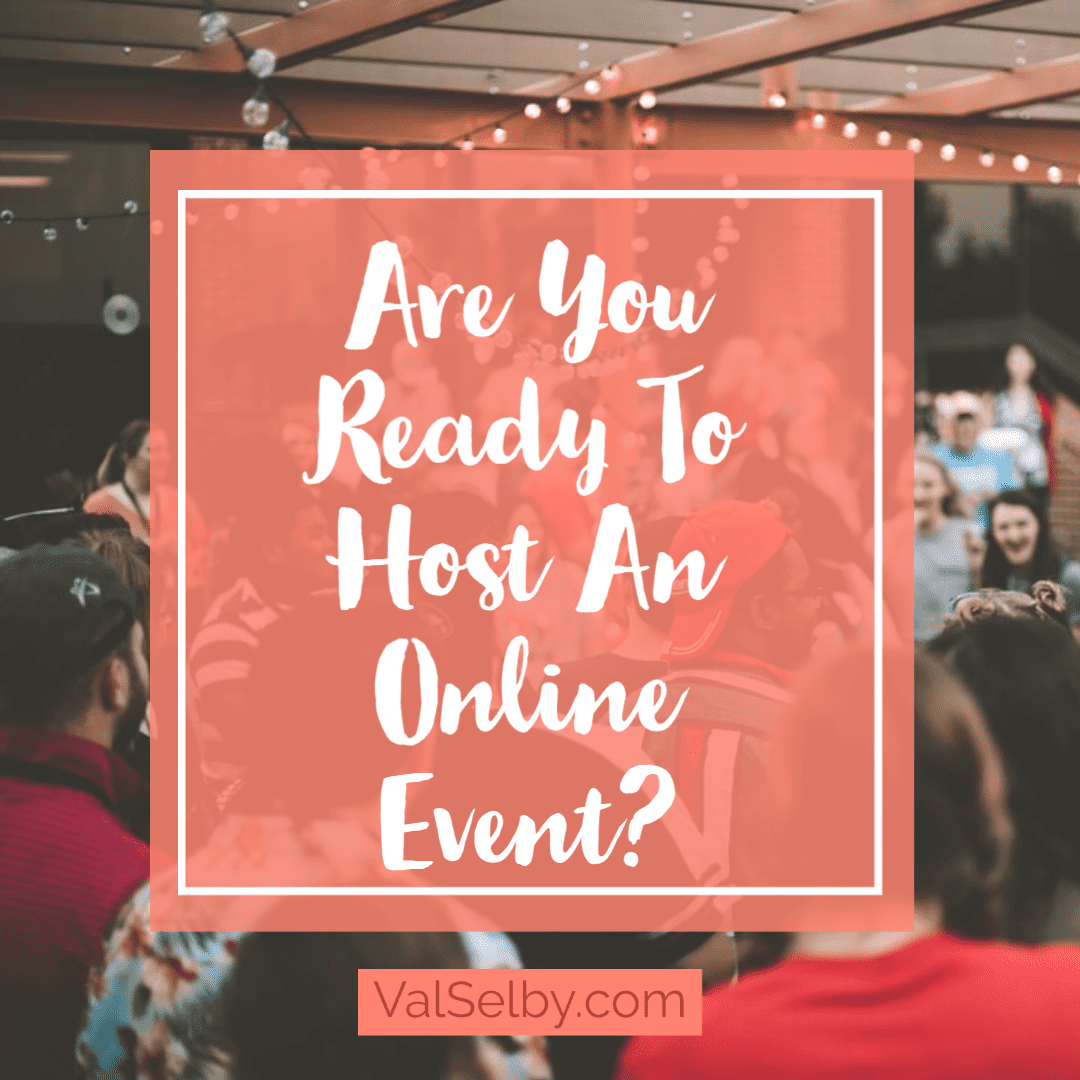 are you ready to host an online event checklist