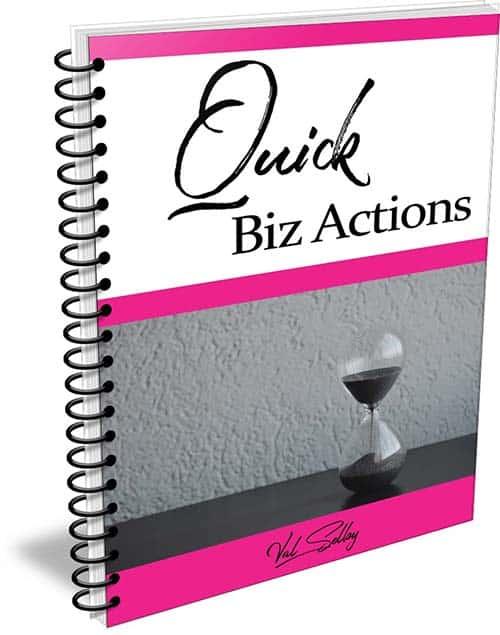 quick biz action steps guide